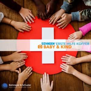 Medizinischer Notfallkoffer MT-CD Baby / Kleinkinder - Söhngen®