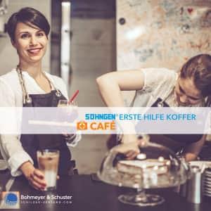 Erste Hilfe Koffer Café DIN 13157 / ASR A4.3 - Söhngen® DIREKT