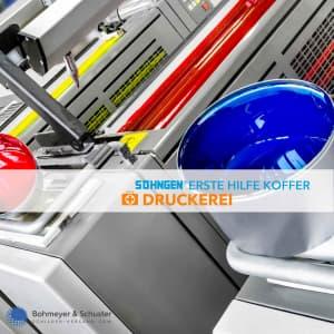 Erste Hilfe Koffer Druckerei DIN 13157 / ASR A4.3 - Söhngen® DIREKT
