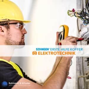 Erste-Hilfe-Koffer Elektrotechnik DIN 13157 ASR A4.3 - Söhngen® Beruf Spezial