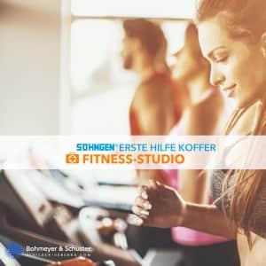 Erste Hilfe Koffer Fitness-Studio DIN 13157 / ASR A4.3 - Söhngen® DIREKT