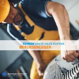 Erste Hilfe Koffer Fliesenleger DIN 13157 / ASR A4.3 - Söhngen® DIREKT