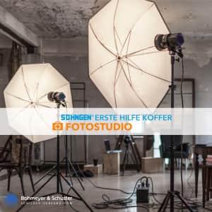 Erste Hilfe Koffer Fotostudio DIN 13157 / ASR A4.3 - Söhngen® DIREKT