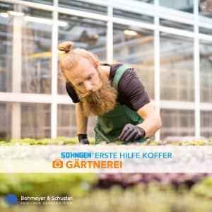 Erste Hilfe Koffer Gärtnerei DIN 13157 / ASR A4.3 - Söhngen® DIREKT