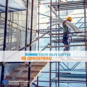Erste Hilfe Koffer Gerüstbau DIN 13157 / ASR A4.3 - Söhngen® DIREKT