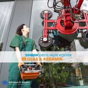 Erste-Hilfe-Koffer Glas und Keramik DIN 13157 / ASR A4.3 - Söhngen® Beruf Spezial®