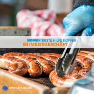 Erste Hilfe Koffer Imbiss DIN 13157 / ASR A4.3 - Söhngen® DIREKT