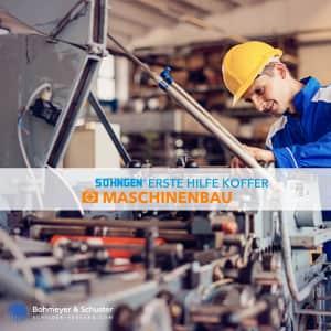 Erste-Hilfe-Koffer Beruf Spezial - Maschinenbau nach Ö-Norm Z 1020-1, Söhngen