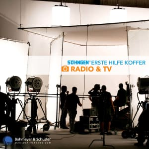 Erste Hilfe Koffer TV und Radio DIN 13157 / ASR A4.3 - Söhngen® DIREKT