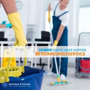 Erste Hilfe Koffer Reinigungsunternehmen DIN 13157 / ASR A4.3 - Söhngen® DIREKT