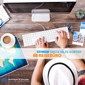 Erste Hilfe Koffer Reisebüro DIN 13157 / ASR A4.3 - Söhngen® DIREKT
