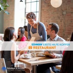 Erste Hilfe Koffer Restaurant DIN 13157 / ASR A4.3 - Söhngen® DIREKT