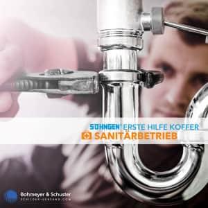 Erste Hilfe Koffer Sanitärbetrieb DIN 13157 / ASR A4.3 - Söhngen® DIREKT