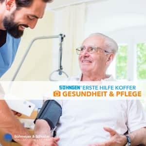 Erste-Hilfe-Koffer Gesundheit und Wohlfahrtspflege DIN 13157 / ASR A4.3 - Söhngen® Beruf Spezial