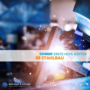 Erste-Hilfe-Koffer Stahlbau DIN 13157 / ASR A4.3 - Söhngen® Beruf Spezial
