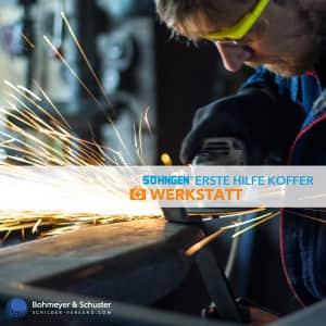 Erste-Hilfe-Koffer Werkstatt DIN 13157 / ASR A4.3 - Söhngen® Beruf Spezial