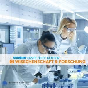 Erste-Hilfe-Koffer Wissenschaft und Forschung DIN 13157 / ASR A4.3 - Söhngen® Beruf Spezial