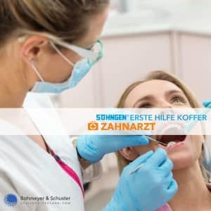 Medizinischer Notfallkoffer Zahnarzt - Söhngen®