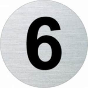 Türnummer - Nummer 0 bis 30