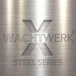 Rammschutzpoller WACHTWERK X® aus Stahl - Logo