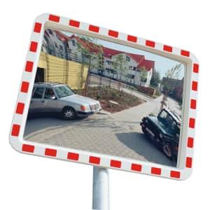 Verkehrsspiegel EUCRYL - Überprüfung von 2 Richtungen