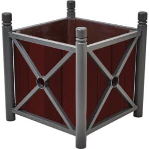 Pflanzkübel PROVINCE aus Holz & Stahl