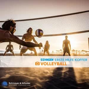 Erste Hilfe Koffer Volleyball / Beachvolleyball - Söhngen® SPORT