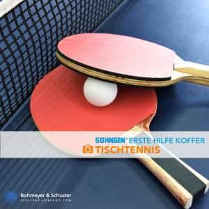 Erste Hilfe Koffer Tischtennis - Söhngen® SPORT