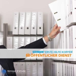 Erste-Hilfe-Koffer Öffentlicher Dienst DIN 13157 / ASR A4.3 - Söhngen® Beruf Spezial