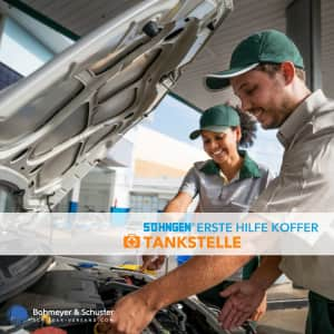 Erste Hilfe Koffer Tankstelle DIN 13157 / ASR A4.3 - Söhngen® DIREKT