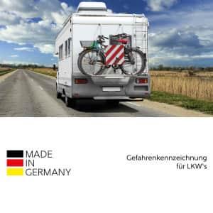 Warntafel starr, reflektierend für forst- und landwirtschaftliche Fahrzeuge
