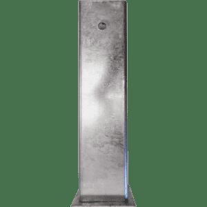 Zusatz-Bodenhülse mit Verschlussdeckel für Gatterschranke