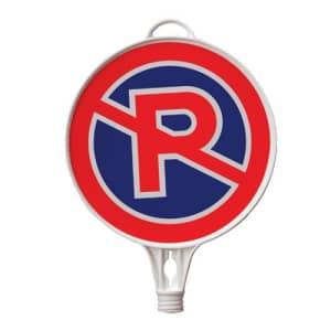Schilderaufsätze Parken verboten - Rundes Schild