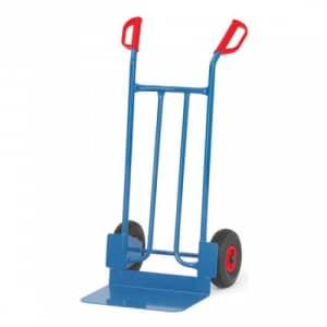 Stahlrohrkarre mit großer Schaufel - Tragkraft 250 kg