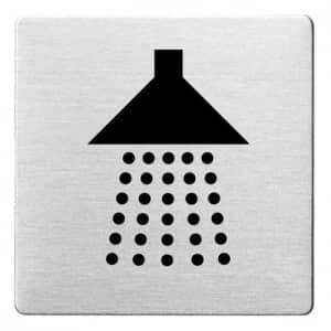 Piktogramm - Dusche (ecken abgerundet)