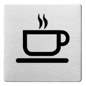 Piktogramm - Café (ecken abgerundet)