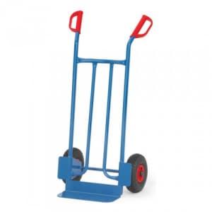 Stahlrohrkarre mit kleiner Schaufel - Tragkraft 250 kg