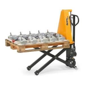 Scheren-Gabelhubwagen - Tragkraft 1000 kg