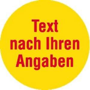 Markierungspunkte mit Farbe und Text nach Wunsch