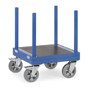 Langmaterial-Wagen mit Holzplattform - Tragkraft 1500 kg