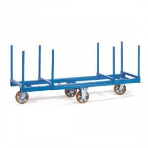 Langmaterial-Wagen mit 2 Materialmulden - Tragkraft 1200 kg