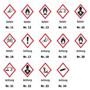 Gruppe 4 - Brennbare Gase nach GHS-Gefahrgutverordnung