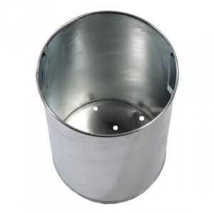 Einsatzbehälter für Abfallbehälter mit Pfosten (ohne Ascherschacht)
