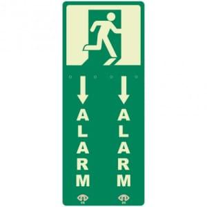 Türwächterhinterlegung für Einhand-Türwächter