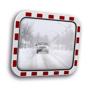 Verkehrsspiegel Anti-Frost und Allwetter TM-B - Überprüfung von 2 Richtungen