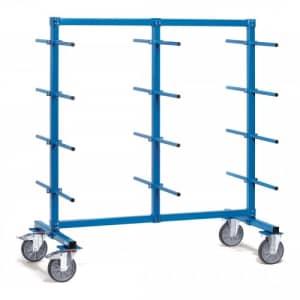 Tragarmwagen mit 24 Tragarmen (zweiseitig)  - Tragkraft 500 kg