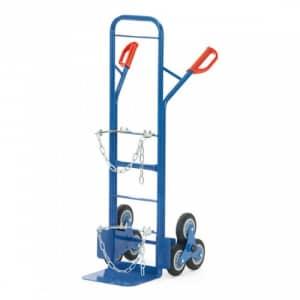 Stahlflaschen-Treppenkarre für 1x 20-50 l/kg Flasche - Tragkraft 200 kg