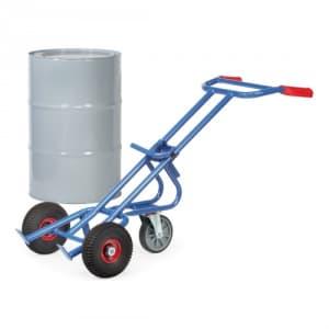 Fasskarre mit Stützrad - Tragkraft 300 kg