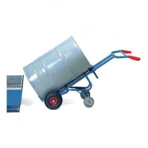 Fasskarre mit zwei Stützrädern - Tragkraft 300 kg