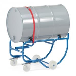 Fasskipper mit Hebelstange, fahrbar - Tragkraft 250 kg